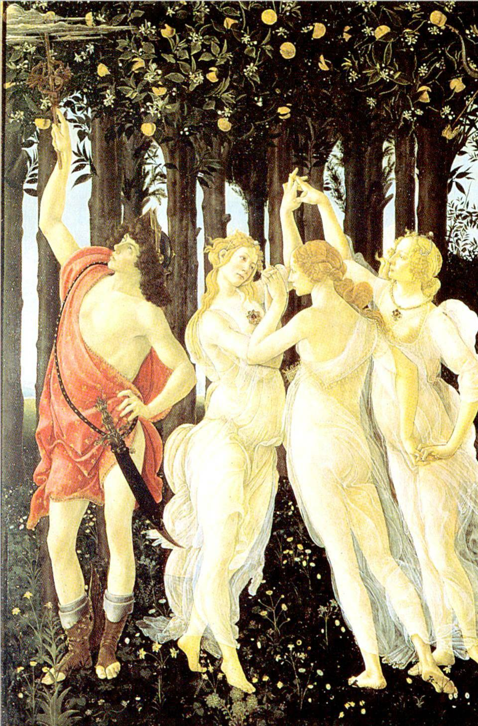 primavera botticelli detail